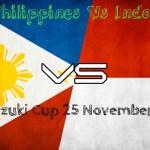 Keputusan terkini philippines vs indonesia 25/11/2014