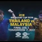 Keputusan terkini malaysia vs Thailand final first leg 17.12.2014