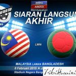 Full video gol highlights Malaysia u23 vs Bangladesh u23 bangabandhu gold cup 8.2.2015