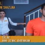 Sinopsis penuh talak tv3, drama dfkl