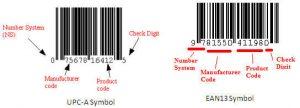 linear code, barcode,