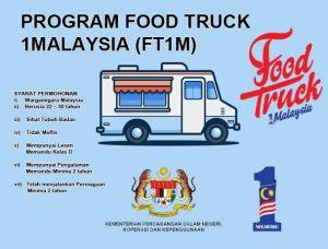 FT1M, food truck 1 malaysia, bantuan food truck 1 malaysia