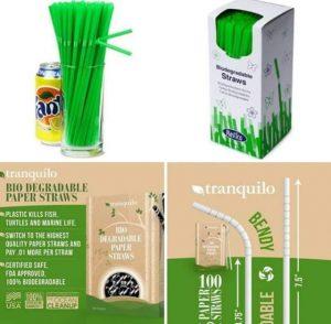 straw Biodegradable