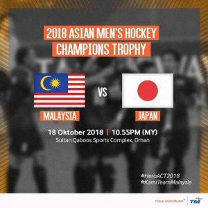 malaysia vs japan hoki 2018,