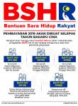 bsh, bantuan sara hidup rakyat, basah2019, bsh 2019, infografik bsh 2019,