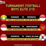 Live streaming indonesia vs korea u 16 18.8. 2019 BOYS TURNAMENT 2019