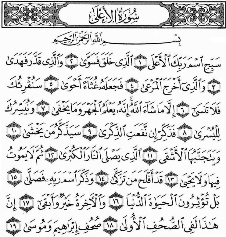 surah al-aqla,