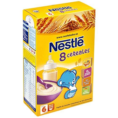 Nestlé – Papillas de Cereales Bebés + 6 meses