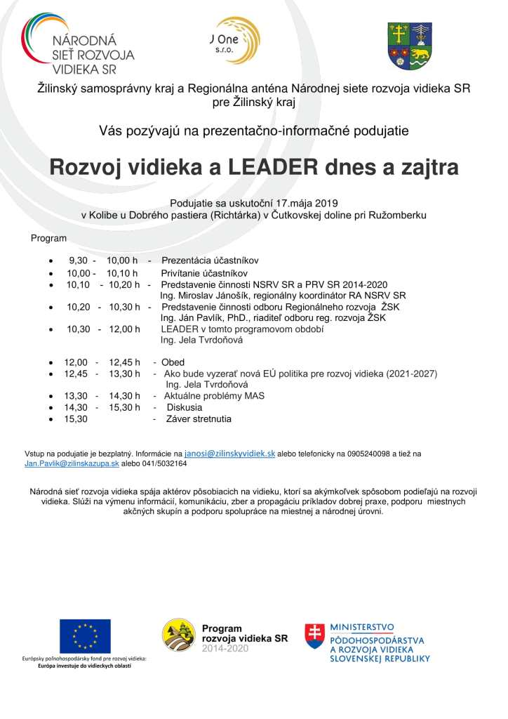 Pozvá¡nka C 2 4-2 LEADER so ŽSK-1