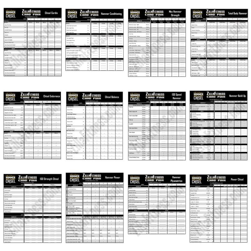 Liift4 Workout Sheets Pdf Workoutwaper Co