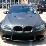 Matte Black Bmw Car Wrap Dallas Zilla Wraps