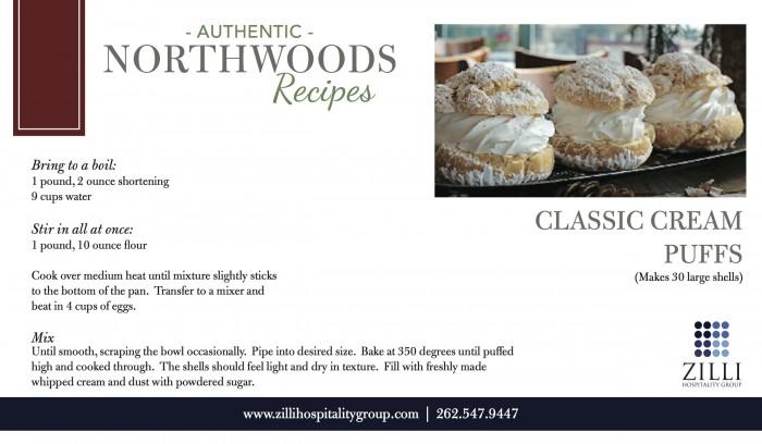 Classic cream puffs recipe
