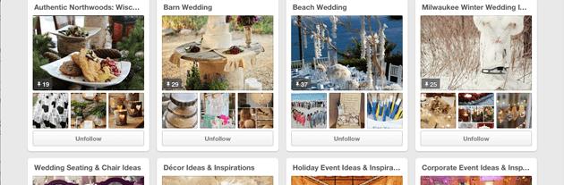 Wedding Visions With Pinterest Milwaukee Weddings