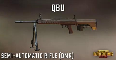 سلاح بندقية لعبة ببجي Qbu