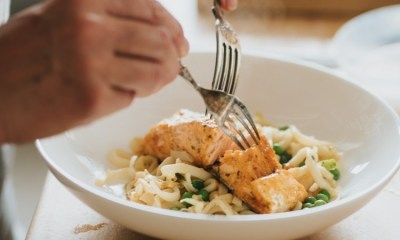 Microwave soy salmon noodles – Recipe