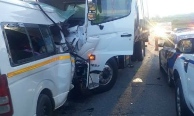 Horrific Truck And Minibus Taxi Head-On Collision Claims 15