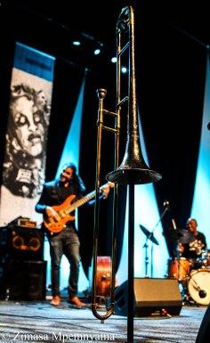 Siya Makuzeni's trombone