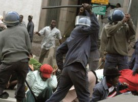Opinion: Political parties should shun violence