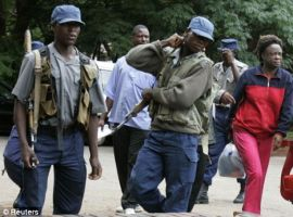 Armed police help Grace aide invade farm
