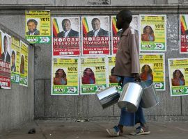 Diplomatic offensive, demos for poll reforms