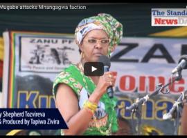 Video: Grace Mugabe attacks Mnangagwa faction