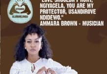 ammara brown love shouldnt hurt gender based violence campaign
