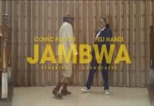 comic pastor jambwa video ft feli nandi