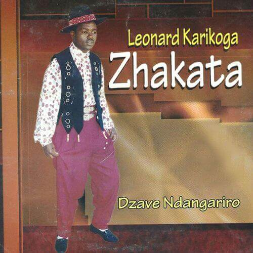 leonard zhakata dzave ndangariro album