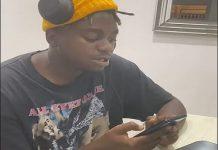 watch video ishan sampling his new song called you bad