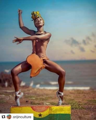Image of Araya Afrika- Ghanaian dancer-singer