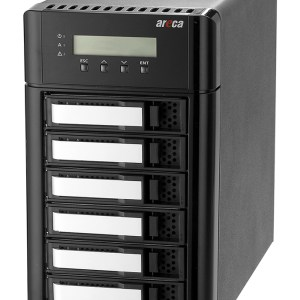 ARC-8050T3 6-Bay Thunderbolt 3 RAID Storage