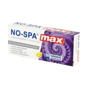 No-Spa Max 80mg (20 Tablets)