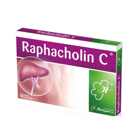 Raphacholin C (30 Tablets)