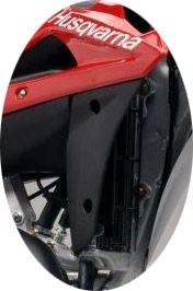 Protetor lateral do radiador Husqvarna WR 125 2007