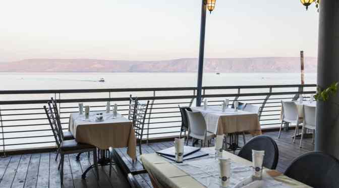 מסעדה בחוף הכנרת