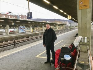 Heidelberg Train Station Platform