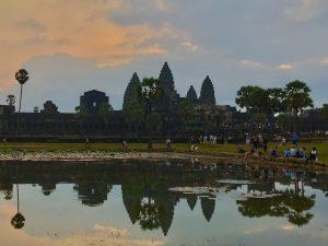 Angkor Wat at Dawn Cambodia Angkor Park Blog