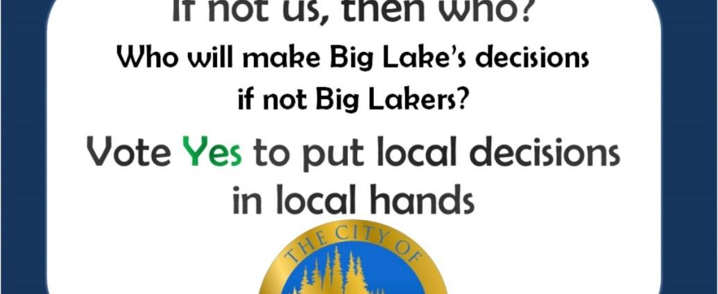 Big Lake Election