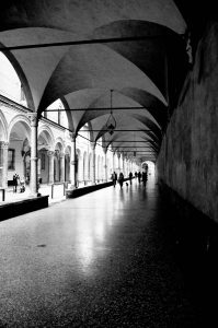 portico covered walkway - travel to bologne