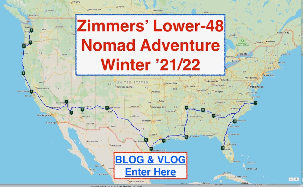 Nomadilng the Lower-48