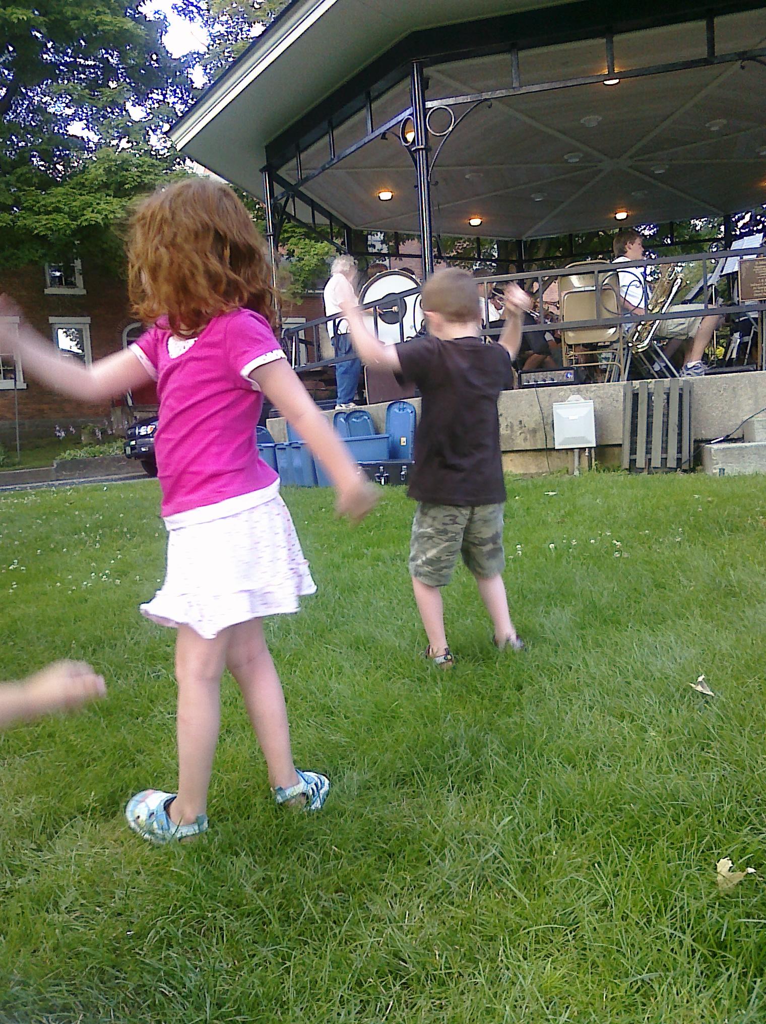 Dancing: Marjorie* and Burke