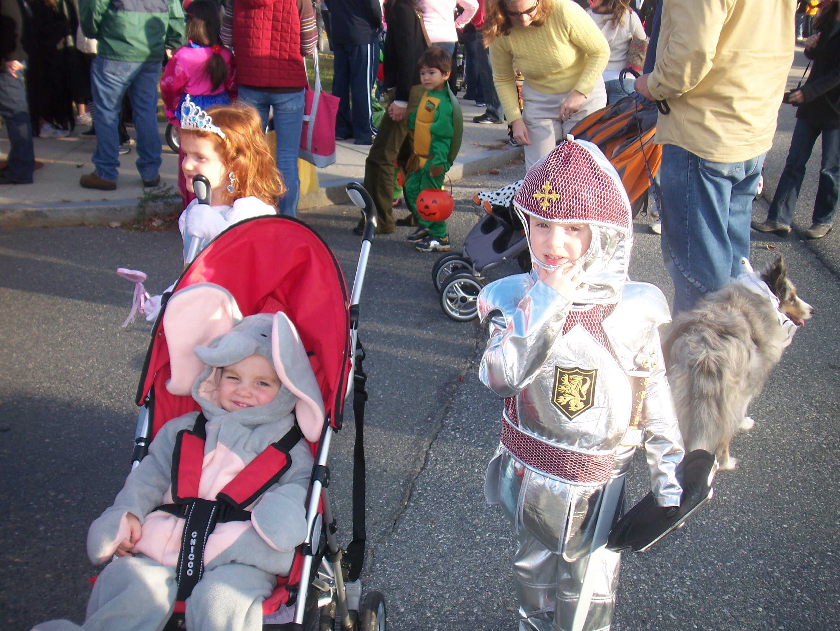 Waiting for the Parade to Start