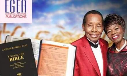 Ezekiel Guti launches own Bible