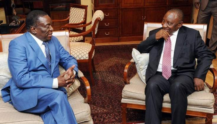 Zimbabwe/South Africa officials to meet ahead of Ramaphosa visit