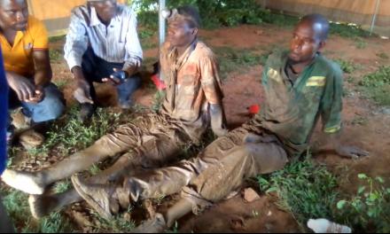 BREAKING: Kadoma mine disaster: 8 rescued so far