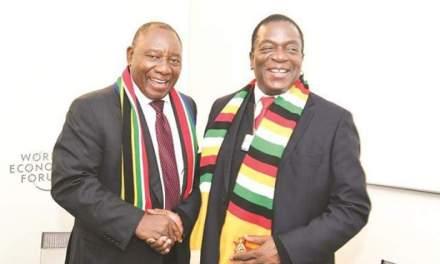 Cyril Ramaphosa coming to Zimbabwe