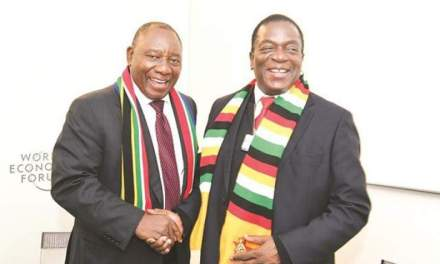 Cyril Ramaphosa coming to Zimbabwe