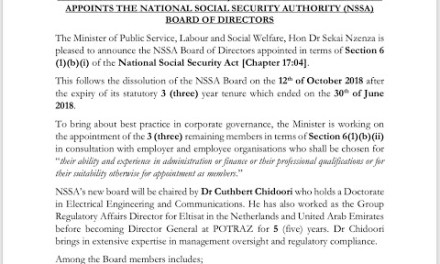 New NSSA Board Appointed