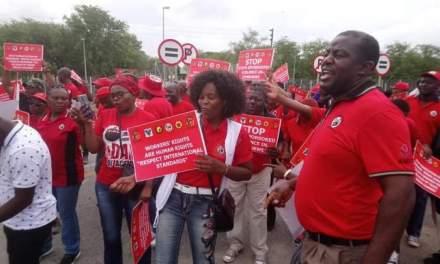 PHOTOS: Anti-Mnangagwa demo in Beitbridge border