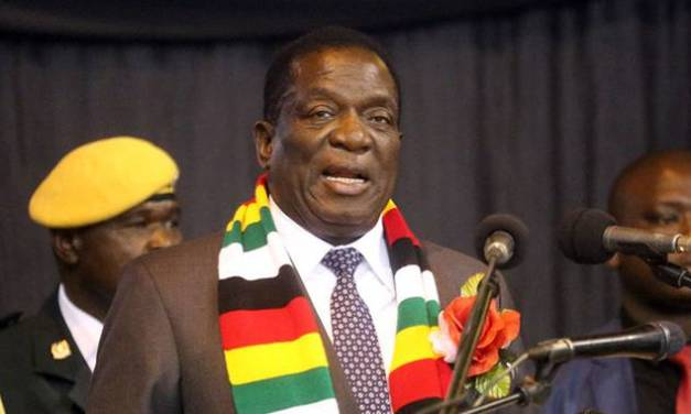 Mnangagwa gets China backing